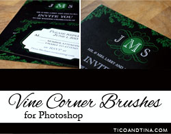 vine-brushes