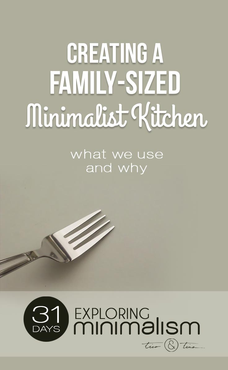 My Perfect Minimalist Kitchen For A Family Tico Tina