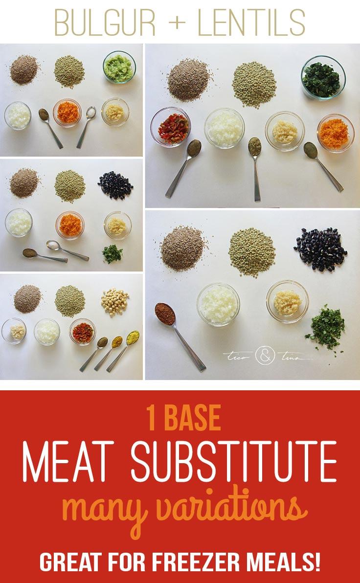Inexpensive Vegan Meat...