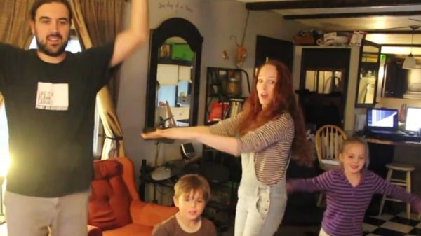 Just Dance 2015 family fun
