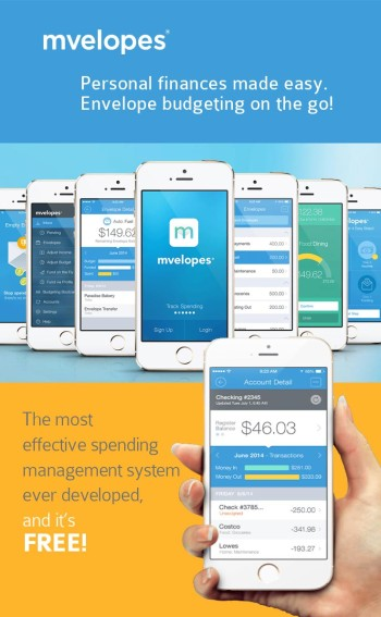 Mvelopes: Personal finance made easy - using your smart phone to manage your envelope system! | simplifying money management