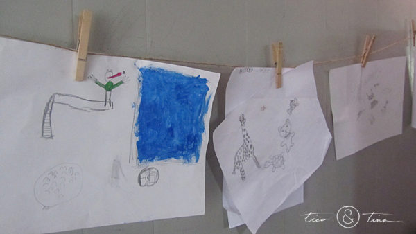 Alternatives to cluttering up your fridge with kids' artwork.