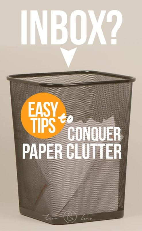Easy tips to conquer paper clutter!   minimalist, minimalism, organization, file management, kids artwork