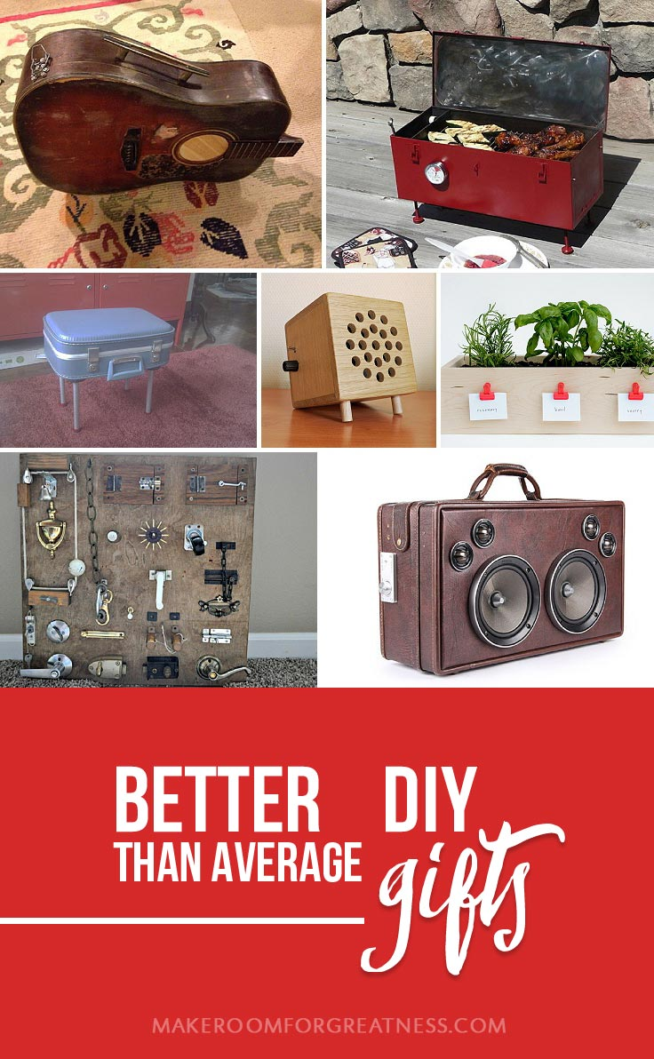 homemade gifts don't have to suck - these DIYs are so much better than average! | Christmas gift, birthday gift, man gift