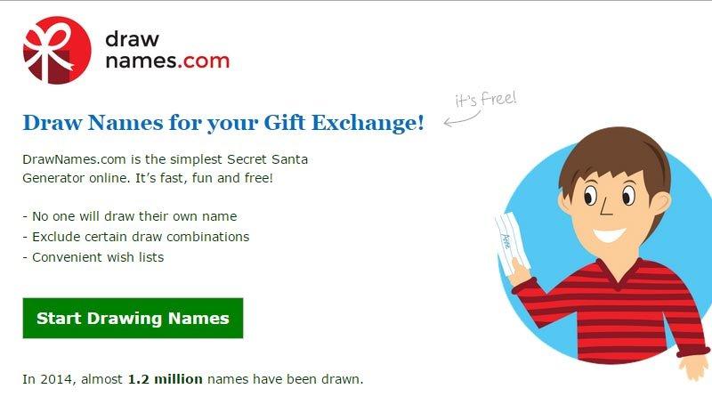simplify giving - family christmas gift exchange ideas - secret santa, drawing names
