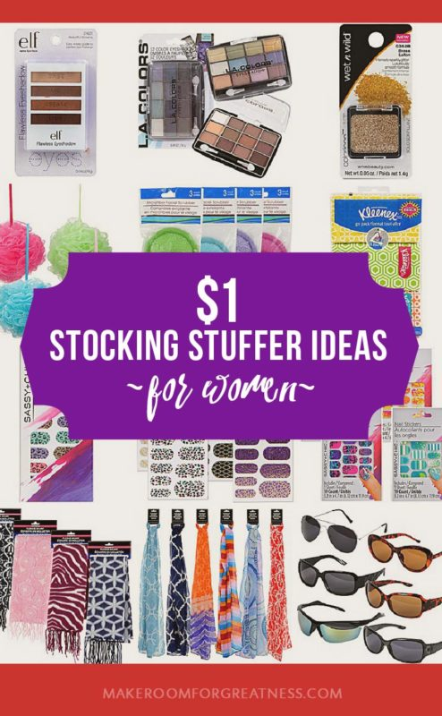 $1 stocking stuffer ideas for women - simple Christmas gifts that don't break the budget, a frugal Christmas