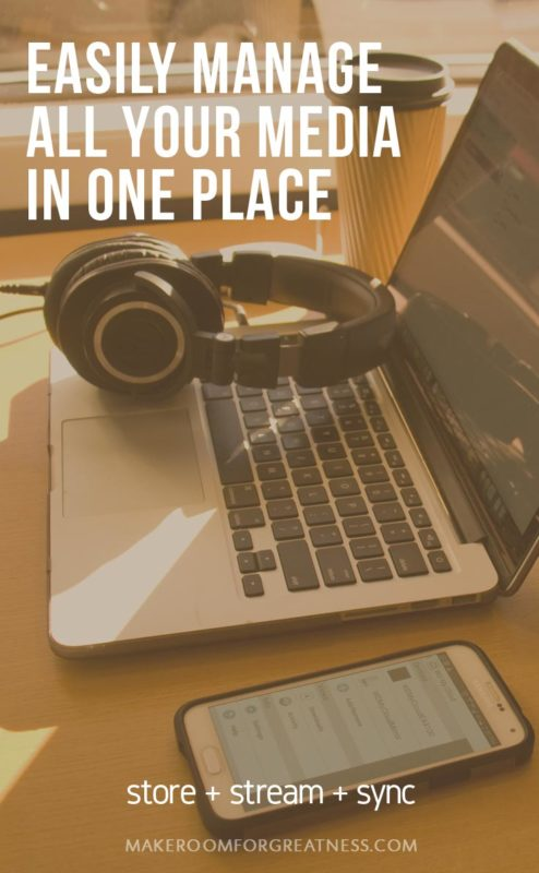the simple solution to manage all your media in one place - store all your files, stream all your media, sync to all your devices!