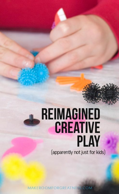 creative play - Bunchems are super easy and fun to build with for ages 4-99 :)