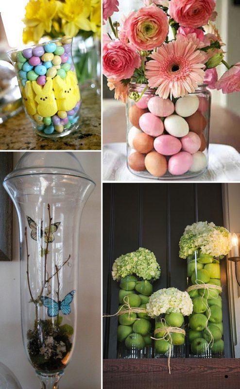 minimalist holiday decor - good base items as part of your regular decor that you can just customize for each holiday or season   spring vases, spring decor