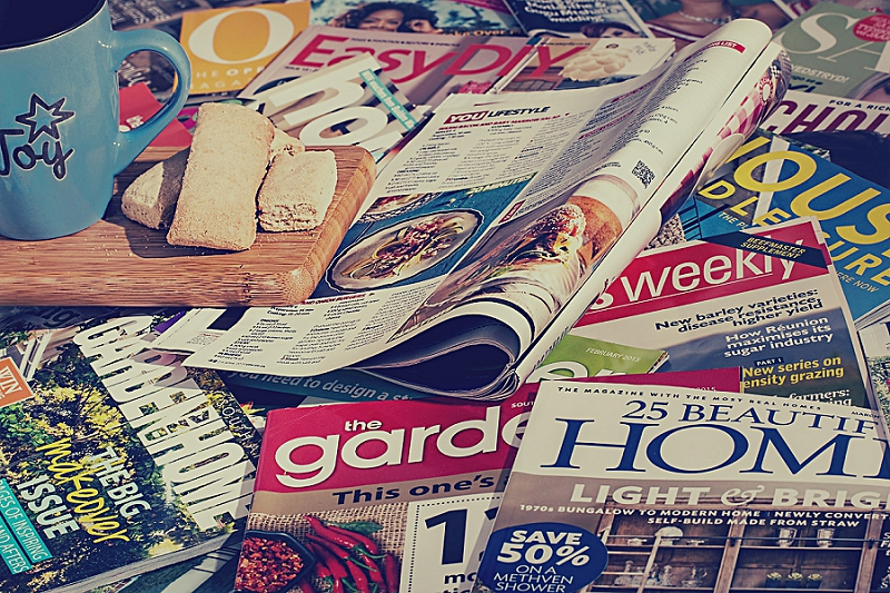 How to Organize Your Living Room and Office - get rid of magazines