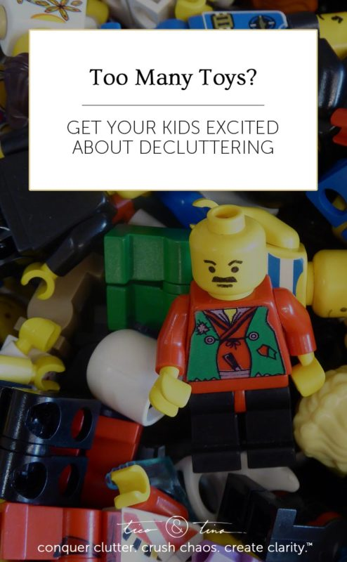 How can you deal with the problem of too many toys without being a mean parent? We came up with a great idea that our kids loved!