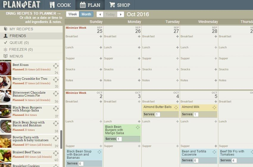 20 tools that will help you crush weekly meal planning | how to plan meals, how to meal plan, easy meal plans | Plan to Eat review