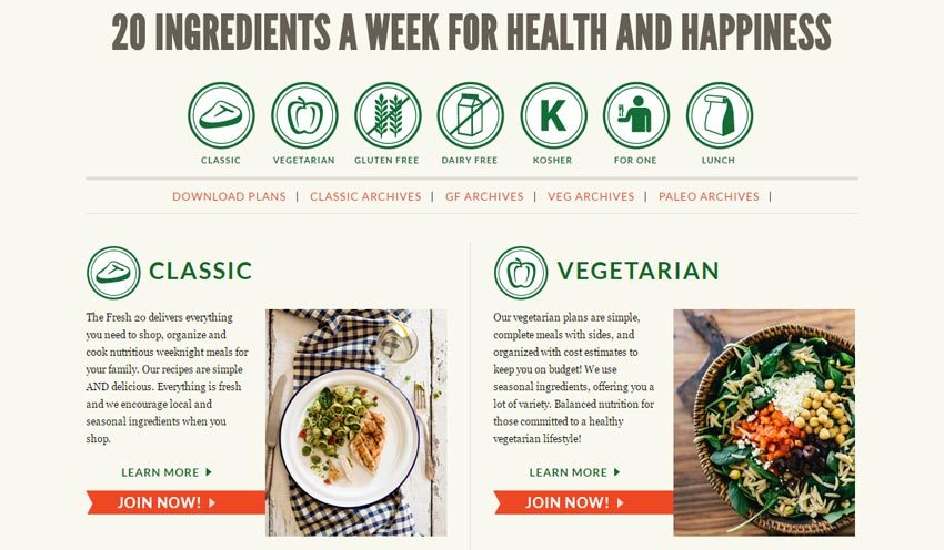 20 tools that will help you crush weekly meal planning | how to plan meals, how to meal plan, easy meal plans | the fresh 20 review