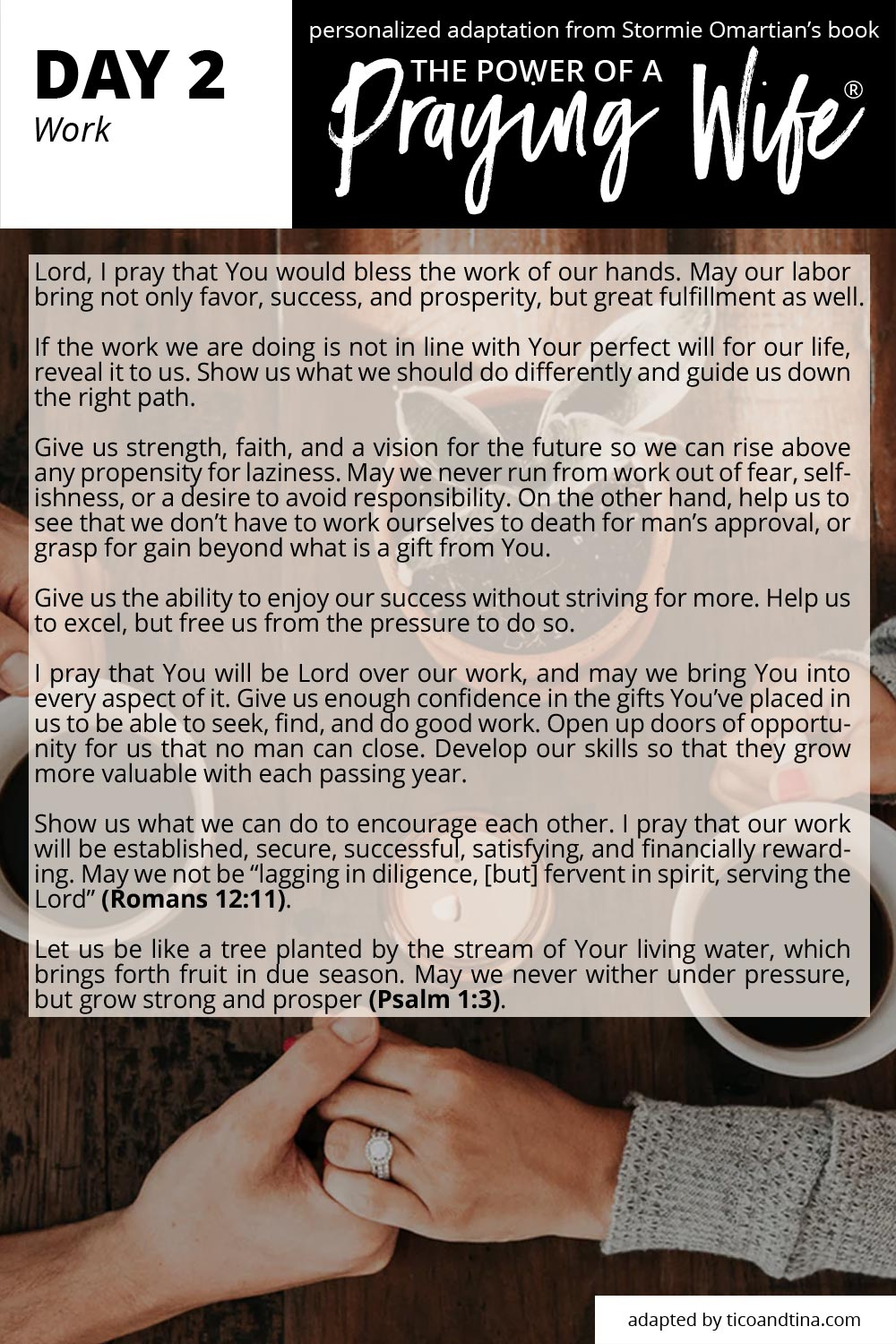 30 Prayers for Your Husband and Your Children | day 2: work | #marriage #prayer
